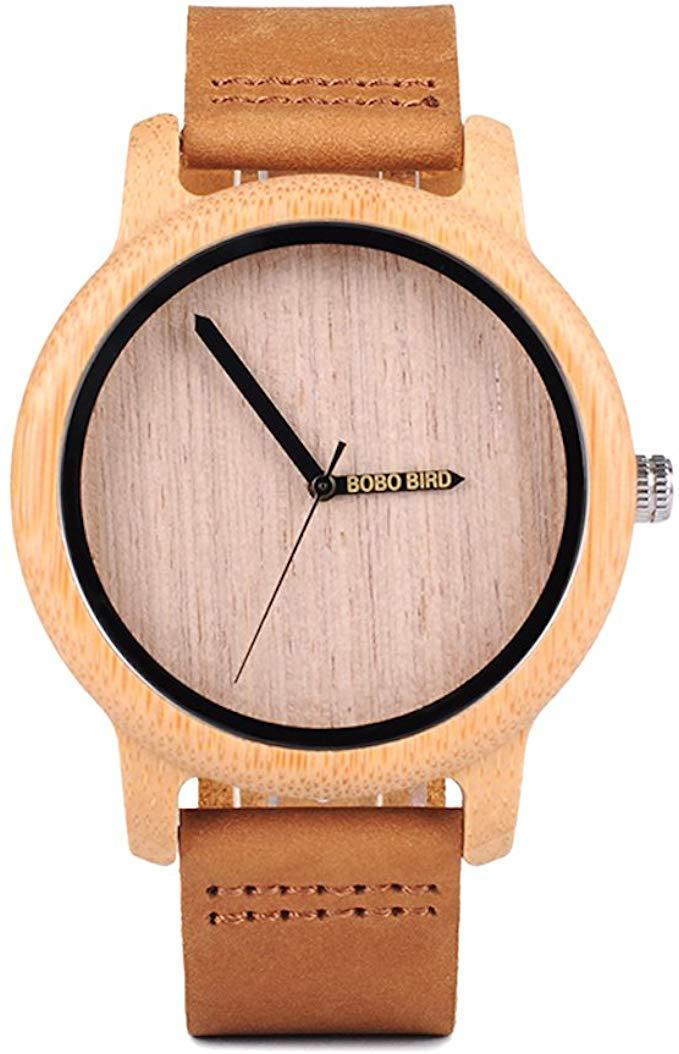 Montre en bois écologique design de mode