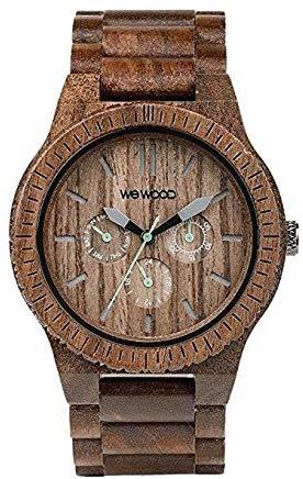 WEWOOD Hommes Analogique Quartz Montre avec Bracelet en Bois WW15005
