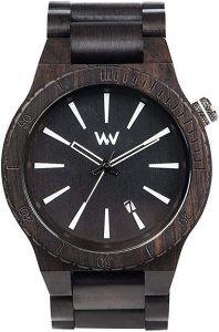 Wewood Montre Bois Noir Assunt 9818097
